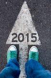 koncepcja nowego roku Obraz Royalty Free