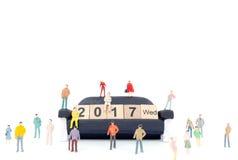 koncepcja nowego roku Obraz Stock