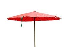 koncepcja plażowy wakacje parasolkę Obraz Stock