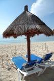 koncepcja plażowy wakacje parasolkę obrazy royalty free