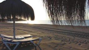 koncepcja plażowy wakacje parasolkę zbiory wideo