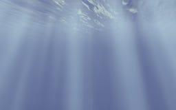 koncepcja pod wodą Fotografia Stock