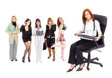 koncepcja przedsiębiorstw kobiety. Zdjęcie Stock