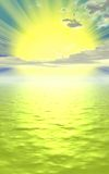 koncepcja słońca Fotografia Stock