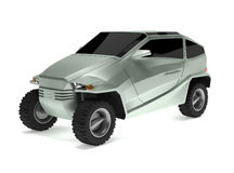 koncepcja samochód, z rexem drogi Fotografia Royalty Free
