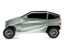 koncepcja samochód, z rexem drogi Zdjęcie Royalty Free