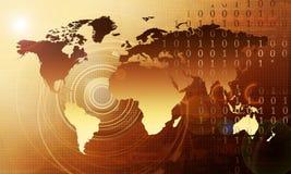 koncepcja supertechnologia Obrazy Stock