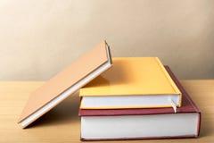 koncepcja uczenia się księgowej sterta obraz stock