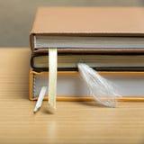 koncepcja uczenia się księgowej sterta obraz royalty free