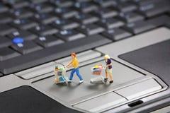 koncepcja zakupy online Zdjęcie Stock