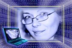 koncepcji technologii informatycznych Obrazy Royalty Free