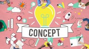 Konceptualizuje pomysły Kreatywnie Inspiruje wyobraźni pojęcie obraz royalty free