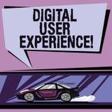 Konceptualna ręka pisze pokazywać Cyfrowego użytkownika doświadczenie Biznesowa fotografia pokazuje demonstrujący s jest emocjami ilustracji