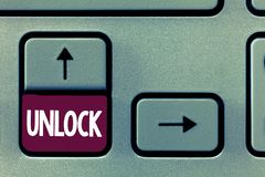 Konceptualna ręka pisze pokazywać Otwiera Biznesowy fotografia tekst używa hasło lub innego uwierzytelnienie przystępować pełno obrazy stock