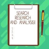 Konceptualna ręka pisze pokazywać rewizji analizę I badanie Biznesowe fotografia teksta dochodzenia dane informacji analityka Cią fotografia royalty free