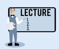 Konceptualna ręka pisze pokazywać wykład Biznesowego fotografia teksta Edukacyjna rozmowa uczeń widowni Długa mowa dla ilustracji