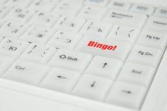 konceptualna wpisowa klawiatura Zdjęcie Royalty Free