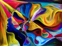 Konceptualni tangensy Obrazy Stock