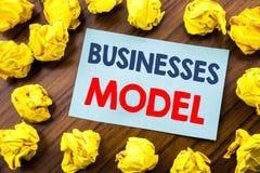 Konceptualny ręki writing teksta inspiraci seansu biznesów model Biznesowy pojęcie dla projekta Dla biznesu pisać na kleistym nie Zdjęcia Royalty Free