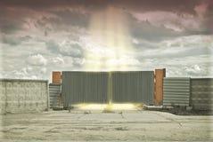 konceptualny wejście Fotografia Stock