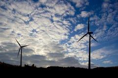 konceptualny wizerunku nieba wiatraczek Zdjęcie Stock