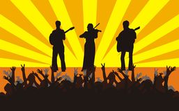 koncert. royalty ilustracja