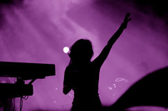 koncert. obraz royalty free