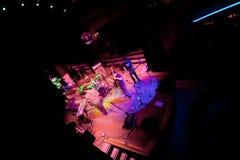 Koncert grupa Indie wystrzał, szampan na Apr 24, 2009 Zdjęcia Royalty Free