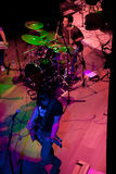 Koncert grupa Indie wystrzał, szampan na Apr 24, 2009 Obrazy Royalty Free