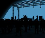 Koncert, muzyka na żywo, zespół, występy i festiwale, Wycieczka turysyczna i zespół Widzowie zabawa, muzyka i taniec, Dyskoteka,  ilustracji