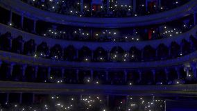 Koncert orkiestra na scenie opera zbiory wideo