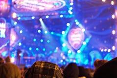 Koncert przy dobroczynnością Obraz Royalty Free