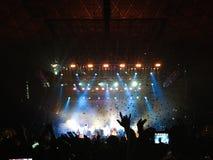 Koncert w Chile Zdjęcia Stock