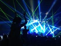 Koncert w Chile Obrazy Royalty Free