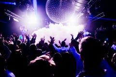 Koncert w klubie zdjęcie royalty free