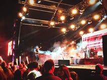 Koncert w Lisbon Fotografia Royalty Free