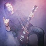 koncertowa bawić się gwiazda rocka obrazy stock