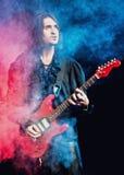 koncertowa bawić się gwiazda rocka obraz royalty free