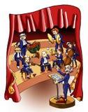 koncertowa muzyka ilustracja wektor