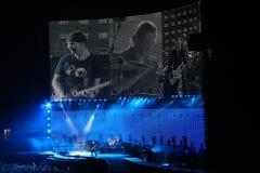koncertowa muzyka u2 Zdjęcia Royalty Free