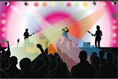 koncertowa skała Obraz Royalty Free