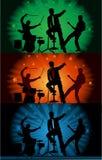 koncertowa zespół muzyka ilustracja wektor