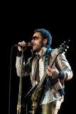 koncertowego kravitz lenny rockowy piosenkarz Obrazy Royalty Free
