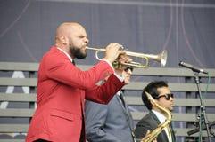koncertowi dap jazzu królewiątka Zdjęcia Stock