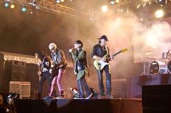 koncertowi skorpiony Zdjęcia Royalty Free