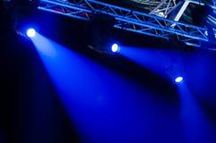 Koncertowy światło Zdjęcia Royalty Free