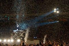 koncertowy Ac dc Montreal Fotografia Stock