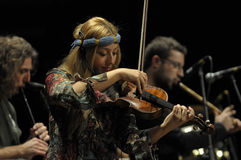 koncertowy dreamin Istanbul Obrazy Royalty Free