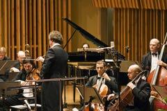 koncertowy dyrygent Fotografia Royalty Free