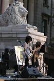 koncertowy grupowy ruch punków Obrazy Royalty Free
